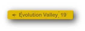 sign to Evolution Valley, 19 miles
