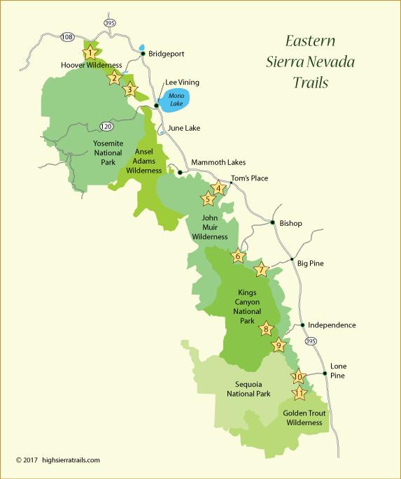 Eastern Sierra Trails