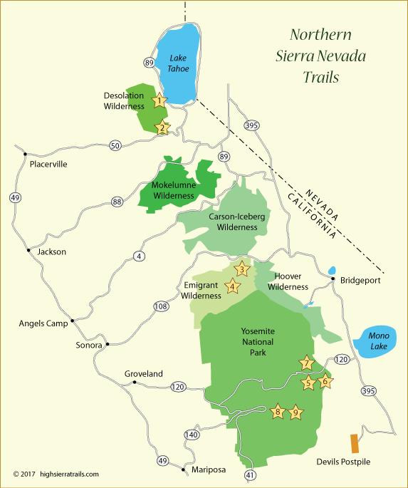 Northern Sierra Trails on