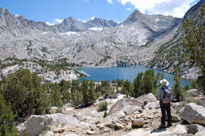 photo of Baboon Lakes, John Muir Wilderness, CA