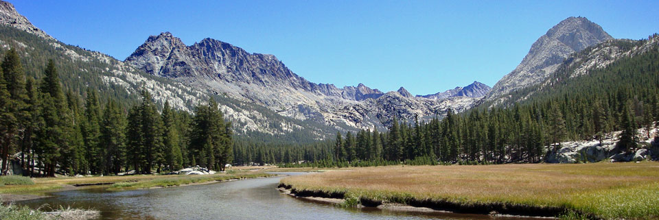 Evolution Valley, Kings Canyon National Park, CA