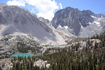 Big Pine Lakes One and Two, John Muir Wilderness, CA