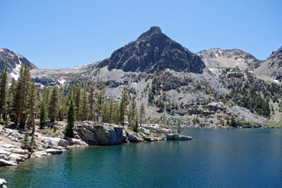 photo of East Lake, Hoover Wilderness, CA