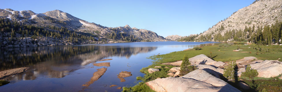photo of Emigrant Lake in the Emigrant Wilderness, CA