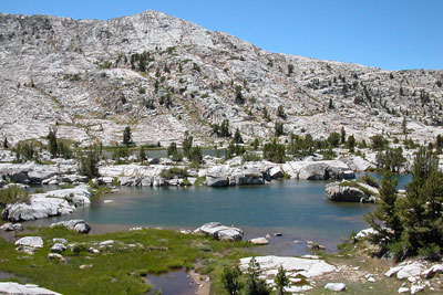 photo of Medley Lake, John Muir Wilderness, CA