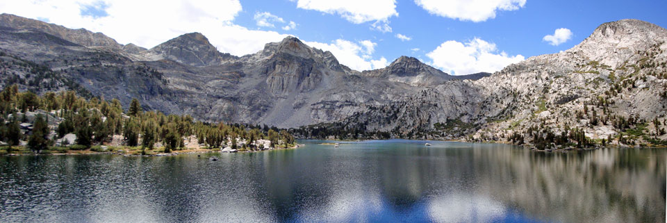 photo of Rae Lakes in Kings Canyon National Park, CA