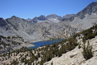 Ruby Lake, John Muir Wilderness, CA