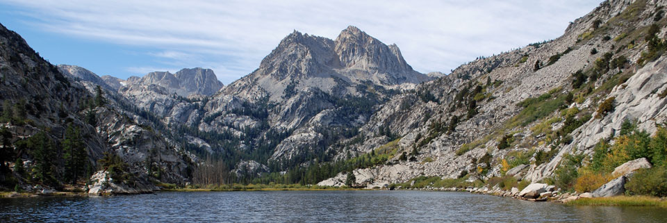 photo of Barney Lake, Hoover Wilderness, CA