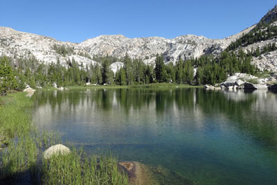 Upper Robinson Lake, Hoover Wilderness, CA
