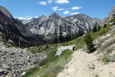 trail to Vidette Meadow, Kings Canyon National Park, CA