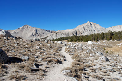 Cottonwood Lakes trail, John Muir Wilderness, CA