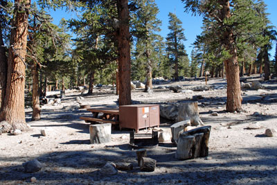 Cottonwood Lakes Trailcamp, Horseshoe Meadow, CA