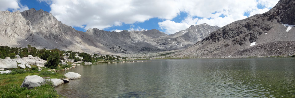 photo of Golden Bear Lake, Center Basin, Kings Canyon National Park, CA