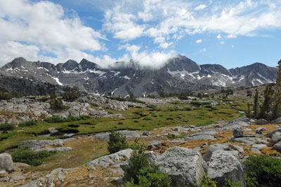 photo of Dusy Basin, Kings Canyon National Park, CA